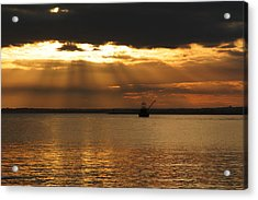 A Days End Acrylic Print by Andrea Galiffi
