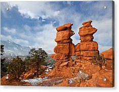 Acrylic Print featuring the photograph A December Morning by Ronda Kimbrow