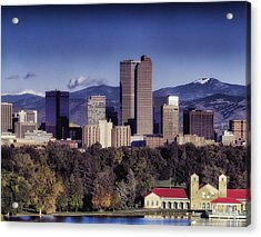 A Denver Autumn Acrylic Print