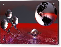A Different World Acrylic Print
