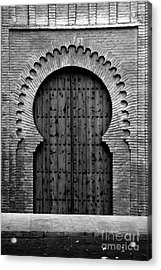 A Door To Glory Acrylic Print by Syed Aqueel