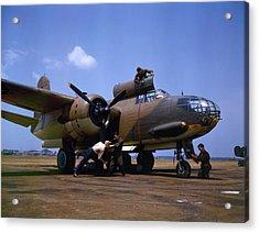A Douglas A-20c-bo Havoc 1942 Acrylic Print by Celestial Images
