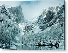 A Dream At Dream Lake Acrylic Print