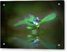 A Dream Of Green Acrylic Print