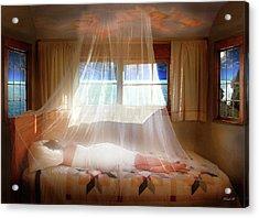 A Dream Of Love So Still Acrylic Print by David M ( Maclean )