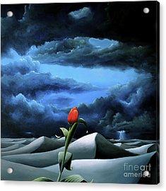 A Dream Of Rain Among A Sea Of Silence Acrylic Print