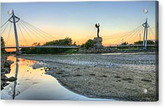 A Dry Heat In Wichita Kansas Acrylic Print by JC Findley