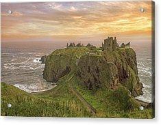 A Dunnottar Castle Sunrise - Scotland - Landscape Acrylic Print