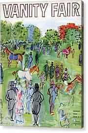 A Equestrian Scene Acrylic Print