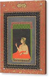 A European Courtesan Acrylic Print by British Library