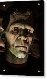 Acrylic Print featuring the photograph A Face Only..... by Joetta West