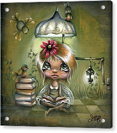 A Fairyland Novel Acrylic Print by Robin Sample