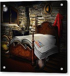 A Fairytale Before Sleep Acrylic Print by Alessandro Della Pietra