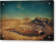 A Far Off Place Acrylic Print by Laurie Search