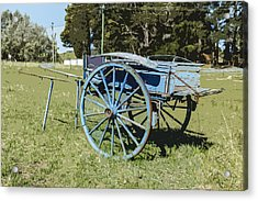 A Farm Relic From The Past Acrylic Print by Gary Cowling