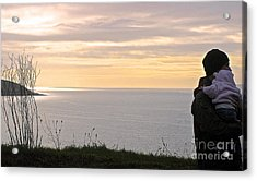 Acrylic Print featuring the photograph A Father's Love by Suzanne Oesterling