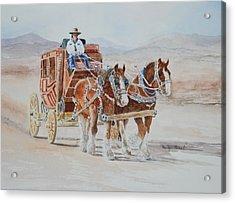 A Fine Ride II Acrylic Print