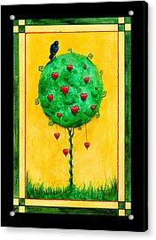 Acrylic Print featuring the mixed media A Fine Thing Indeed by Terry Webb Harshman