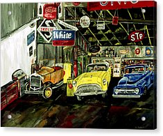 A Fine Time  Acrylic Print by Mark Moore