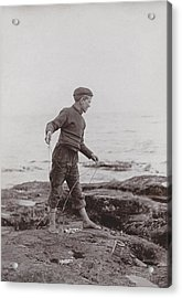 A Fisher Laddie Acrylic Print by James Patrck