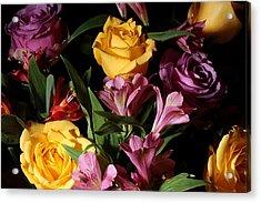 A Fist Full Of Flowers Acrylic Print by Joe Kozlowski