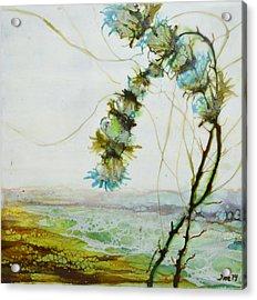 A Flower Dance Acrylic Print