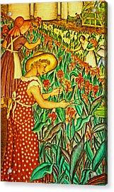 A Flower Harvest Acrylic Print