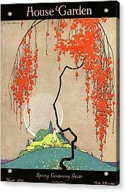A Flowering Tree Acrylic Print by H. George Brandt