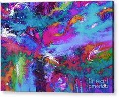 A Fluid Storm Acrylic Print by Keith Mills
