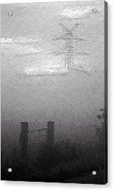A Foggy Day Acrylic Print by Steve K