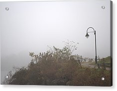 A Foggy Morning Acrylic Print