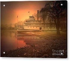 A Foggy Sunrise Acrylic Print