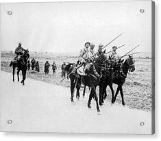 A French Cavalry Patrol Acrylic Print