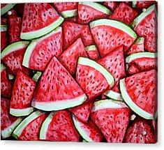 A Fresh Summer 2 Acrylic Print by Shana Rowe Jackson