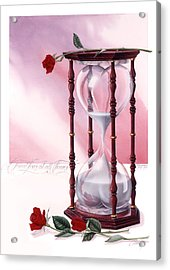 A Friend Loves At All Times Acrylic Print by Cliff Hawley