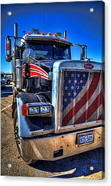 A Friend Of Optimus Prime Acrylic Print by Tim Stanley