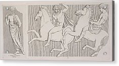 A Frieze Acrylic Print by British Library