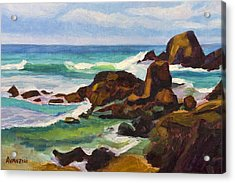 Acrylic Print featuring the painting A Frouxeira Galicia by Pablo Avanzini
