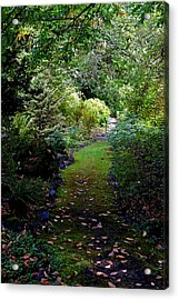 A Garden Path Acrylic Print by Anthony Baatz