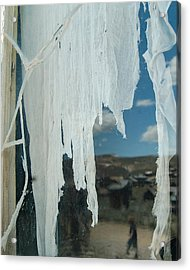 A Ghostly View Acrylic Print by Tamyra Crossley