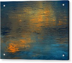 A Gift Of Gold Acrylic Print by Dennis James