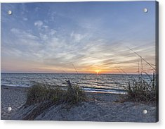 A Glass Of Sunrise Acrylic Print by Jon Glaser