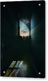 A Glimpse Acrylic Print