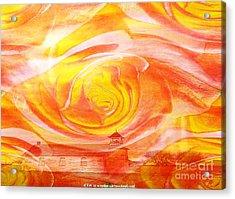 A Glorious God Acrylic Print by PainterArtist FIN
