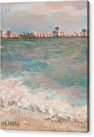 A  Glowing Sunrise Acrylic Print by Annie St Martin