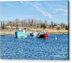 A Good Day To Fish Acrylic Print by Roxanne Marshal