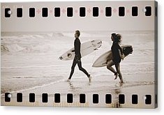 Acrylic Print featuring the photograph A Good Day To Surf by Alice Gipson