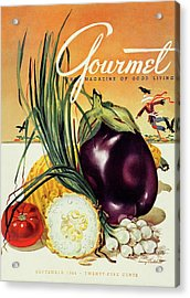 A Gourmet Cover Of Vegetables Acrylic Print