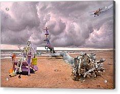 A Grain Of Sand Acrylic Print by Betsy Knapp