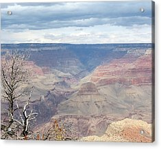 A Grand Canyon Acrylic Print by Laurel Powell